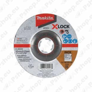 LIHVKETAS 125X6MM. X-LOCK (WA36N). INOX 1TK MAKITA