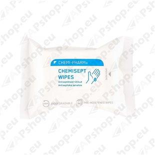 CHEMISEPT WIPES ANTISEPTILISED LAPID 24TK CHEMI-PHARM