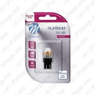12V/24V T20 LED PIRN 3.3W W21/5W CANBUS PLATINUM BLISTER 1TK (OSRAM LED) M-TECH