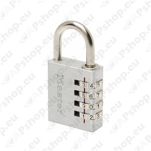 TABALUKK NUMBRIKOODIGA 7640EUR 40MM MASTERLOCK