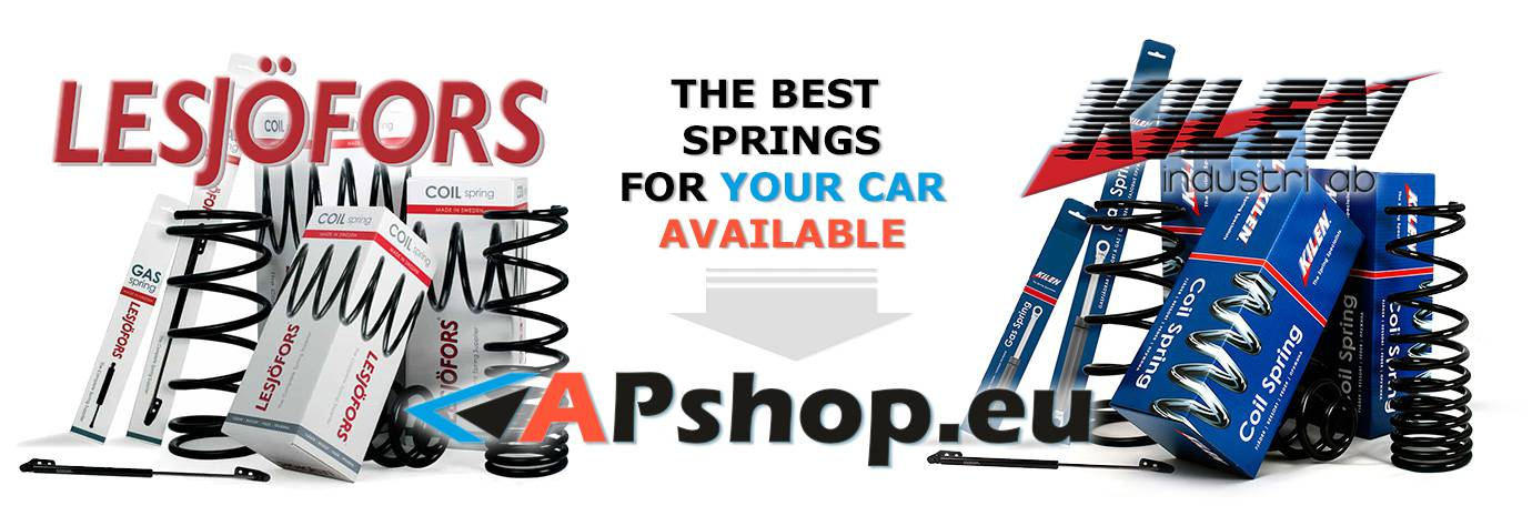 The Best Springs for Your Car Available at APshop.eu