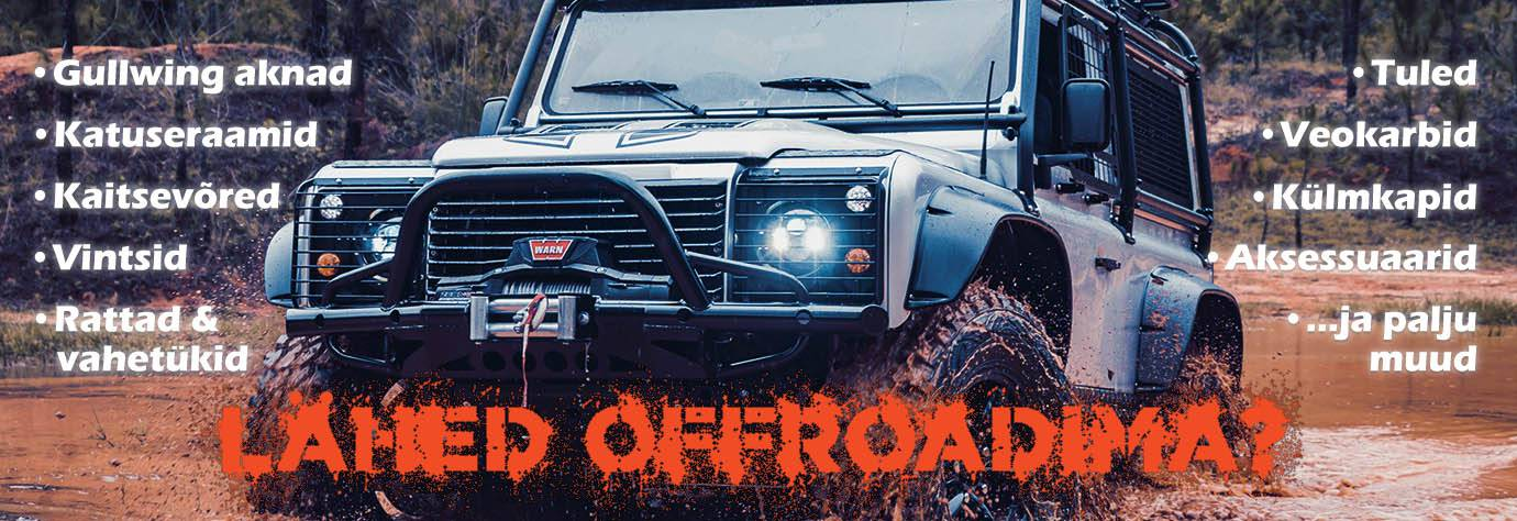 Off-road / 4x4 tooted