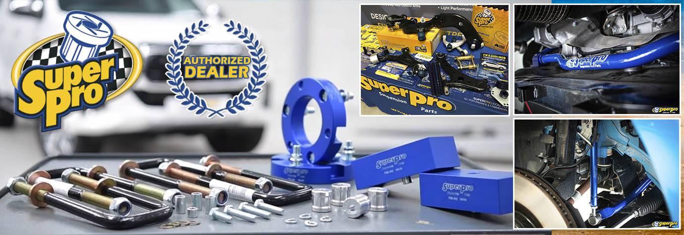 SuperPro Suspension Parts