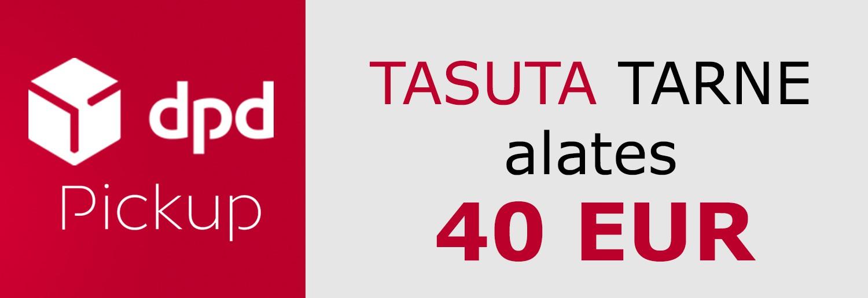 DPD PICKUP TASUTA TARNE Eesti piires 40 EUR alates