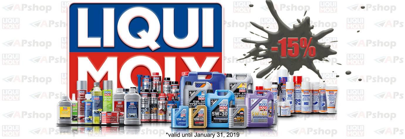Liqui Moly -15% - January 2019